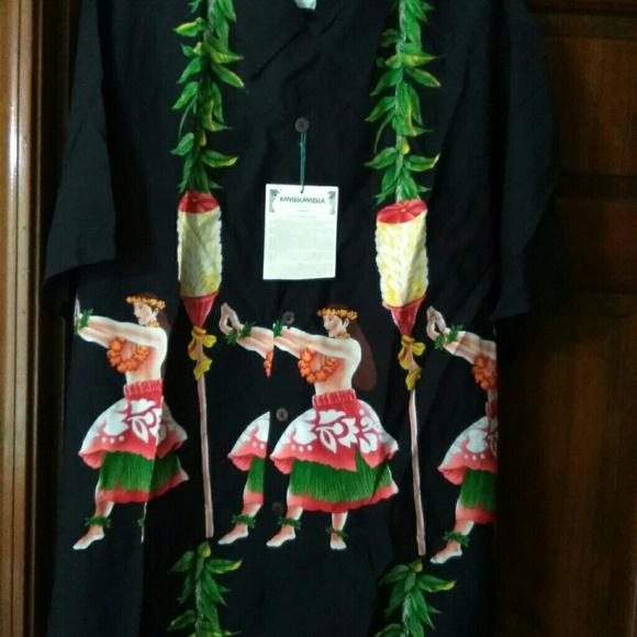 a0485aba KAMEHAMEHA Other - Men's Hawaiian shirt Kamehameha Size XL NWT